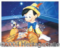 "Autographs, Dickie Jones ""Pinocchio"" Signed Photo"