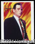 "Autographs, Tommy Lee Jones Signed ""Two-Face"" Photo"