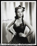 Autographs, Dorothy Lamour Signed Photo (a)
