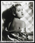 Autographs, Dorothy Lamour Signed Photo (d)