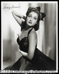 Autographs, Dorothy Lamour Signed Photo (e)
