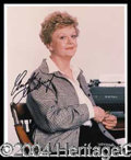 Autographs, Angela Lansbury Signed Photo
