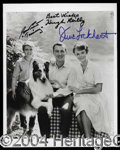 Autographs, Lassie Cast Signed Photo