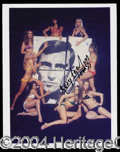 Autographs, George Lazenby Signed James Bond Photo