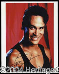 Autographs, Brandon Lee Signed Photo