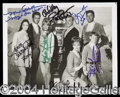 Autographs, Lost In Space Cast Signed Photo