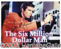 Autographs, Lee Majors Signed Classic Photo
