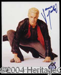Autographs, James Marsters Signed Buffy Photo