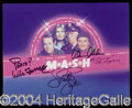 Autographs, M.A.S.H. Cast Signed Photo