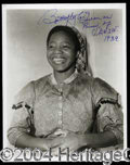 Autographs, Butterfly McQueen Signed GWTW Photo