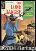 Autographs, Clayton Moore Signed Lone Ranger Comic Book