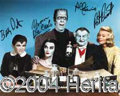 Autographs, The Munsters Signed Cast Photo