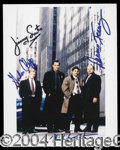 Autographs, NYPD Blue Cast Signed Photo