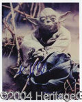 "Autographs, Frank Oz Signed Star Wars Photo ""Yoda"""