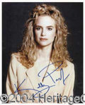 Autographs, Kelly Preston Signed 8 x 10 Photo