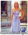 Autographs, Tanya Roberts Signed James Bond Photo