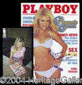 Autographs, Brande Roderick Signed June 2001 Playboy