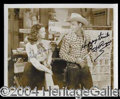 Autographs, Roy Rogers and Dale Evans Signed Photo
