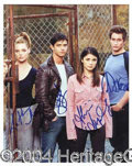Autographs, Roswell Cast Signed Photograph