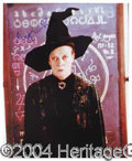 Autographs, Maggie Smith Signed Harry Potter Photo