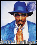 Autographs, Snoop Doggy Dogg Signed Photo