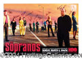 Autographs, The Sopranos Cast Signed HBO Poster