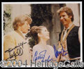 Autographs, Star Wars Cast Signed Photo