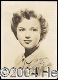 Autographs, Shirley Temple Young Signed Photo