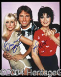 Autographs, Three's Company Cast Signed Photo