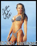 Autographs, Charlene Tilton Signed 8 x 10 Photo