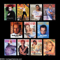 The Vanity Fair Collection: 40+ Signed Covers - Vanity Fair magazine is undoubtedly the hottest entertainment and fashio...