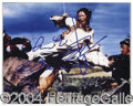 Autographs, Zhang Ziyi Rare Signed 8 x 10 Photo