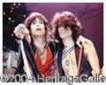 Autographs, Aerosmith (Tyler & Perry) Signed 8 x 10 Photo