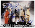 Autographs, Backstreet Boys Signed 8 x 10 Photo