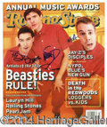 Autographs, The Beastie Boys Signed Rolling Stone Magazine