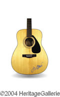 Autographs, Jimmy Buffett Signed Acoustic Guitar