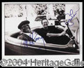 Autographs, Eric Clapton & B.B. King Dual Signed 8 x 10 Photo