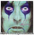 "Autographs, Alice Cooper Signed ""From The Inside"" Album"