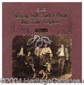 "Autographs, Crosby, Stills, Nash & Young Signed ""Deja Vu"" Album"