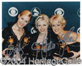Autographs, The Dixie Chicks Group Signed 8 x 10 Photo