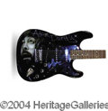 Autographs, Adam Duritz (Counting Crows) Signed Custom Guitar