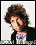 Autographs, Bob Dylan Signed 8 x 10 Photograph