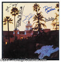 "Autographs, The Eagles Original Signed ""Hotel California"" Album"