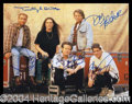 Autographs, The Eagles Group Signed 11 x 14 Photo
