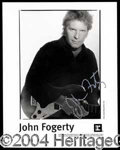Autographs, John Fogerty Signed 8 x 10 Photo