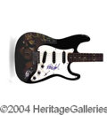 Autographs, Rob Halford Judas Priest Signed Custom Guitar