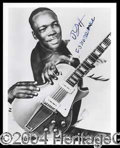 Autographs, John Lee Hooker Rare Signed Photograph