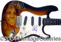 Autographs, Whitney Houston Signed Custom Guitar