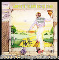 "Autographs, Elton John Signed ""Yellow Brick Road"" Album"