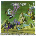 "Autographs, Journey Signed ""Journey"" Album"